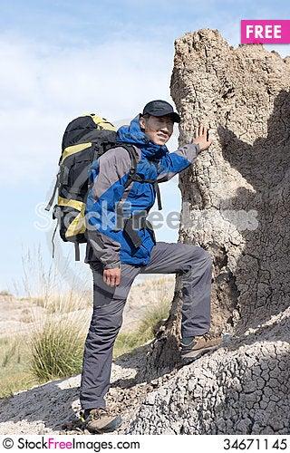 Free Hiking Royalty Free Stock Photo - 34671145
