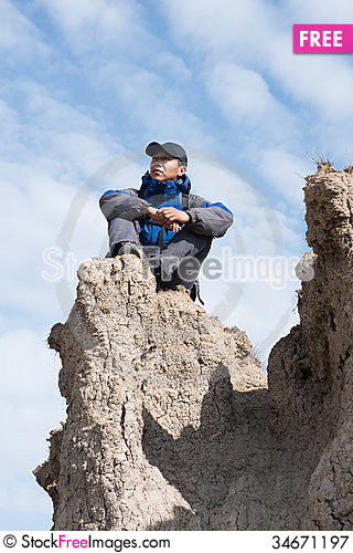 Free Hiking Royalty Free Stock Photography - 34671197