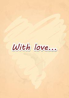 Free Grunge Heart Background. Stock Photos - 34671103