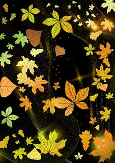 Free Abstract Autumn Background. Stock Image - 34671981