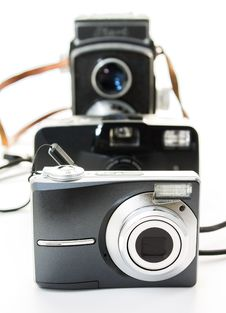 Free The Cameras Royalty Free Stock Photo - 34678445