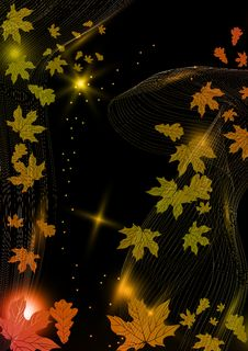 Free Abstract Autumn Background. Stock Photography - 34679262