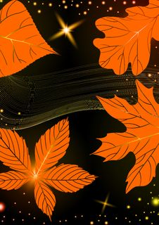 Free Abstract Autumn Background. Royalty Free Stock Images - 34679309