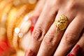 Free Decorative Hand Of Bride Royalty Free Stock Photo - 34680325