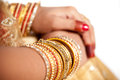Free Decorative Hand Of Bride Royalty Free Stock Photo - 34680435