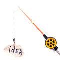 Free Fishing Rod Royalty Free Stock Photo - 34685355