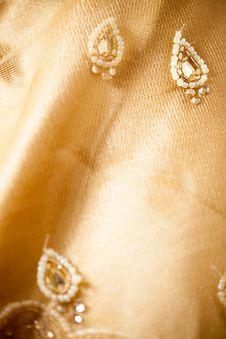 Free Indian Sari Royalty Free Stock Photography - 34680247