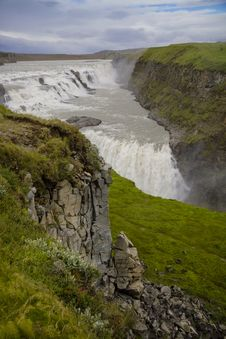 Free Gullfoss Waterfall, Iceland Stock Photo - 34681400