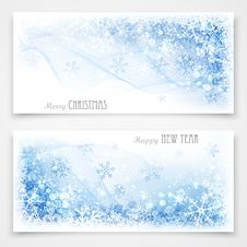 Free Christmas Banners Stock Photography - 34681792