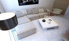 Free Modern Interior Living Room Stock Photos - 34683123