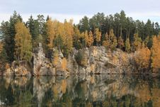 Autumn In The Mountains Teplice Stock Image