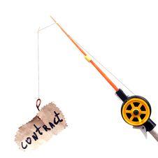 Free Fishing Rod Royalty Free Stock Photos - 34685368