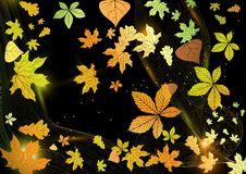 Free Abstract Autumn Background. Stock Photography - 34685512