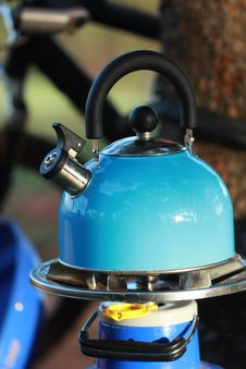 Free Camp Kettle Stock Photo - 34686250
