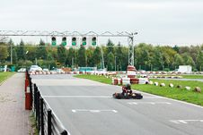 Free Car On The Track Karting Stock Photos - 34687233
