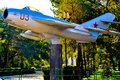 Free The City Of Orenburg Details MiG 17 Royalty Free Stock Images - 34691419