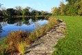 Free Autumn On The Lake Royalty Free Stock Image - 34699686