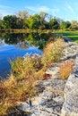 Free Autumn On The Lake Stock Photo - 34699700