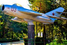 The City Of Orenburg Details MiG 17 Royalty Free Stock Images