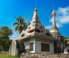 Free Old Silver Temple In Thailand Royalty Free Stock Photo - 34692725