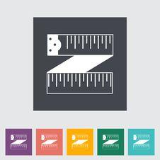 Free Centimetr Icon. Stock Photos - 34693023