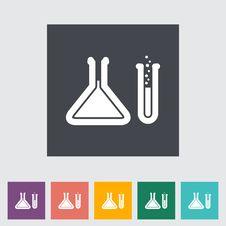 Free Chemisty Flat Icon Royalty Free Stock Images - 34693029