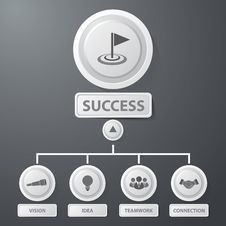 Free Success Business Infographics Stock Photos - 34693093