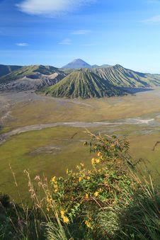 Bromo Volcano Mountain Stock Image
