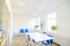 Free White Conference Room Royalty Free Stock Images - 34695629