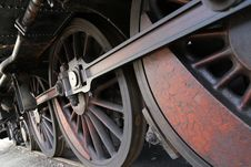 Free Wheels Train Stock Photos - 34699283