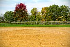 Free Baseball Field Stock Photography - 34699832