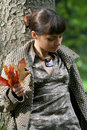 Free Autumn Woman 33 Stock Photography - 3475072