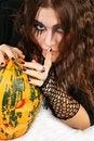 Free Gorgeous Halloween Girl Royalty Free Stock Photography - 3475677