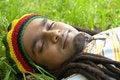 Free Happy Jamaican Sleeping Royalty Free Stock Image - 3478396