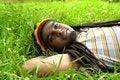 Free Happy Jamaican Smiling Stock Image - 3478471