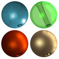 Free Colorful Beads Royalty Free Stock Photos - 3478758