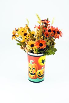 Free Halloween Flowers Royalty Free Stock Photos - 3470338