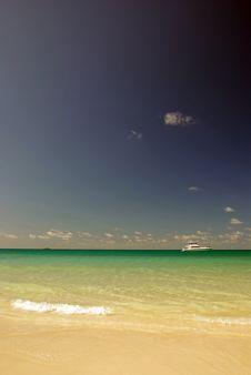 Free Motor Boat In The Tropics Stock Photo - 3470790
