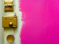 Free Pink Door Stock Images - 3470964
