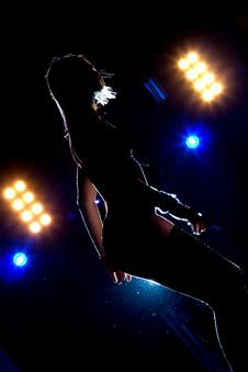 Free Dancer On  The Rave Royalty Free Stock Images - 3471299