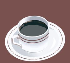 Free Cup And Saucer Royalty Free Stock Image - 3472036