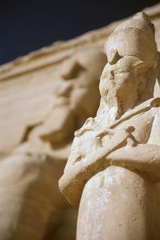 Free Abu Simbel Pharaoh Stock Photo - 3472290