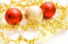 Free Christmas Ball Royalty Free Stock Image - 3472676