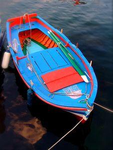 Small Fish Boat Stock Photo