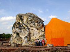 Free Reclining Buddha Stock Image - 3473331
