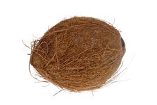 Free Coconut Isolated On White Stock Photos - 3473423