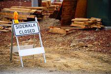 Free Sidewalk Closed Stock Photos - 3473893