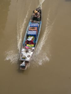 Free Classic, Wooden Boat In Thaila Royalty Free Stock Photos - 3473948