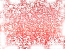 Free Winter In Red Royalty Free Stock Image - 3474096