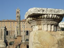 Free The Via Sacra In Rome Stock Images - 3475654